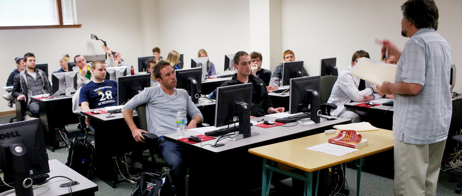 Undergrad Business CIS Class.