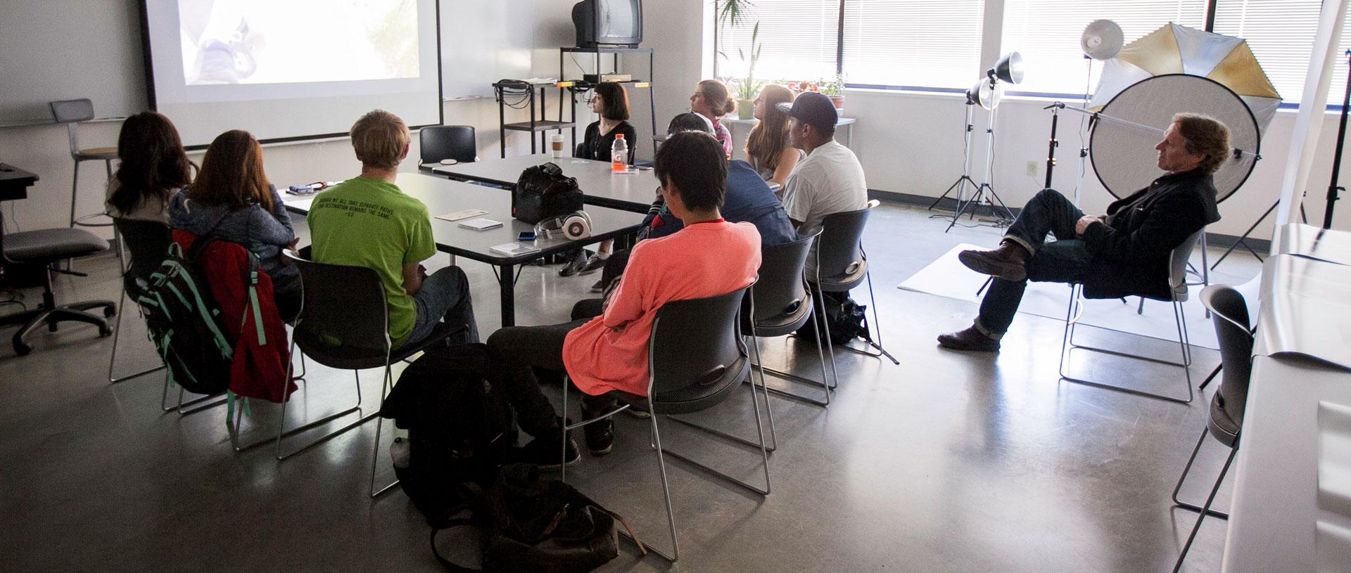 Undergrad Film Studies Class.
