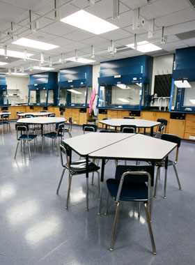 Cytotechnology classroom.