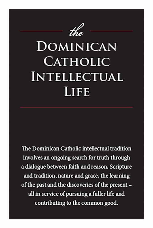 Dominican Catholic Intellectual Life document