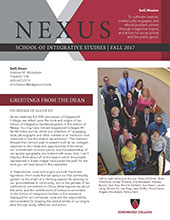 NEXUS Newsletter Fall 2017