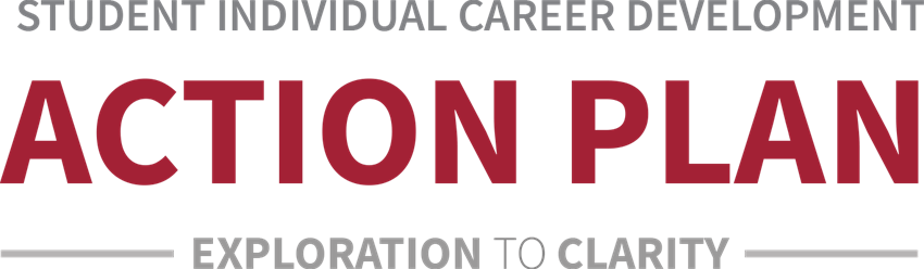 Student Individual Career Development Action Plan Exploration to Clarity