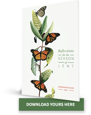 Cover of 2021 Lent Booklet