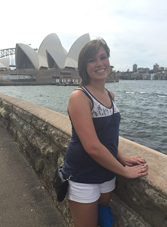 Ashley Ligman in Australia