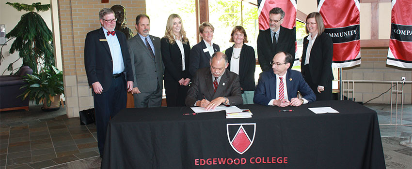 Signing MATC Articulation Agreement